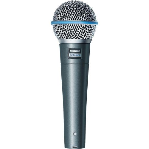 Shure Beta 58A Handheld Supercardioid Dynamic Microphone