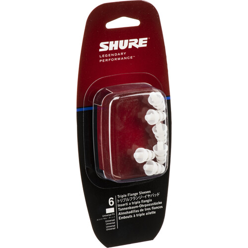 Shure EA306 - Triple Flange Sleeves (3 Pair)