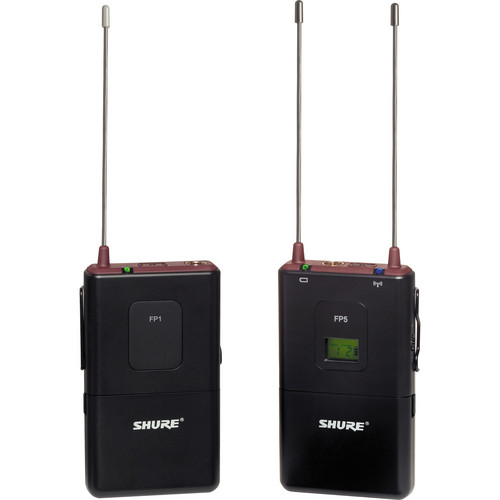 Shure FP Wireless Bodypack System (No Mic) (H5 / 518 - 542MHz)