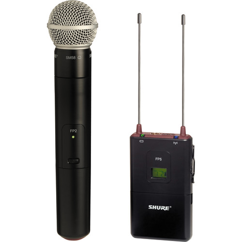 Shure FP Wireless Handheld System (J3 / 572 - 596MHz)
