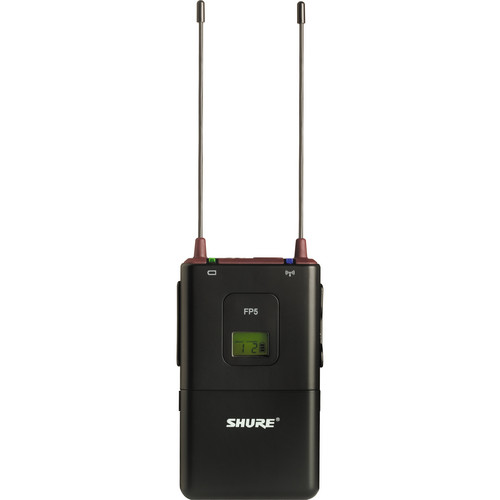 Shure FP5 Wireless Camera-Mount Receiver (G5: 494 to 518 MHz)