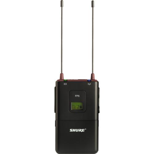 Shure FP5 Wireless Portable Receiver (J3: 572 - 596MHz)