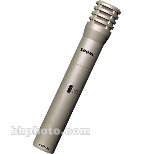 Shure KSM109/SL - Cardioid Condenser Studio Microphone