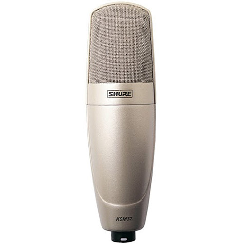 Shure KSM32/SL Project-Studio Vocal Solution