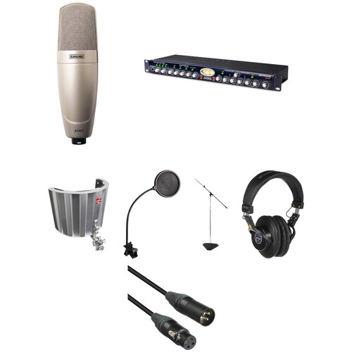 Shure KSM32/SL Project-Studio Vocal Solution