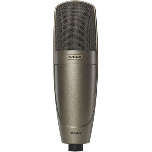 Shure KSM42/SG Side-Address Condenser Vocal Microphone
