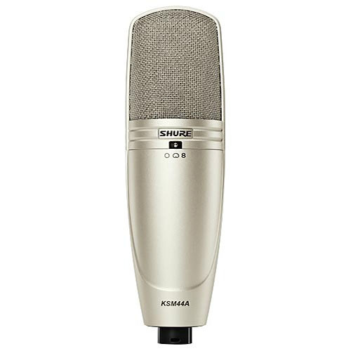 Shure KSM44A/SL Side-Address Condenser Vocal Microphone