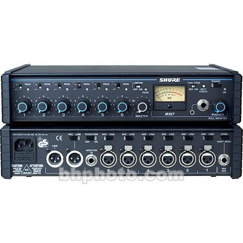 Shure M367 - Portable Mixer
