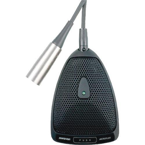 Shure MX393/S Microflex Supercardioid Boundary Microphone