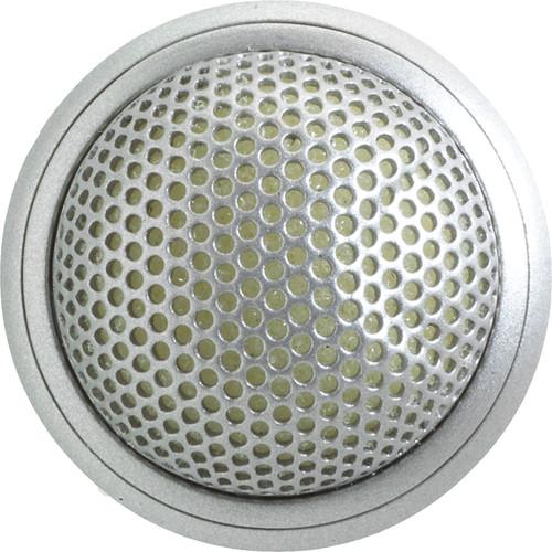 Shure MX395 Microflex Boundary Microphone (Figure 8) (Brushed Aluminum)