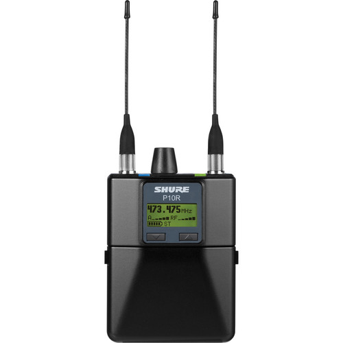 Shure P10R Wireless Bodypack Receiver for PSM1000 (G10: 470-542MHz)
