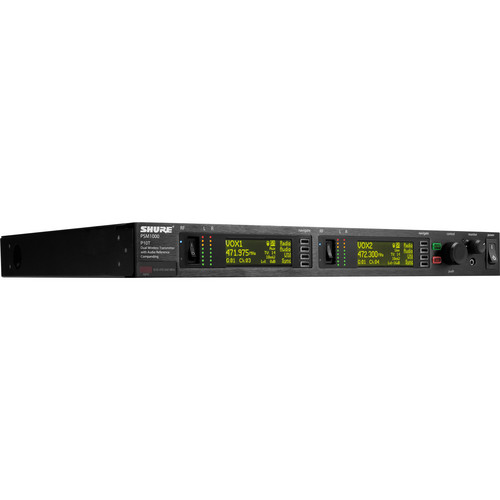 Shure P10T Full-Rack Dual-Channel Wireless Transmitter (G10:  470 to 542 MHz)