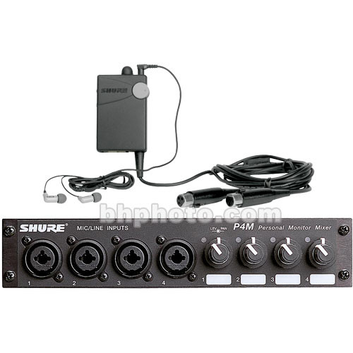 Shure P4MHWE3 - PSM 400 Hardwired Personal Monitor System