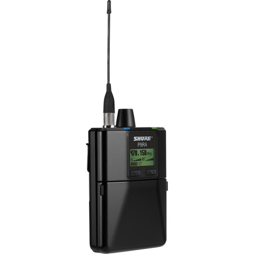 Shure P9RA Wireless Personal Monitoring Receiver (G7: 506-542MHz)