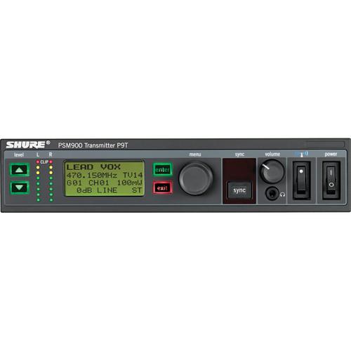 Shure P9T Wireless Transmitter for PSM900 (K1: 596-632MHz)