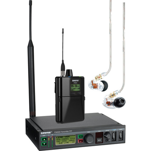 Shure PSM 900 Wireless Personal Monitoring System with IEMs (G7: 506-542MHz)