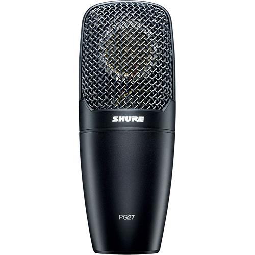 Shure PG27 Cardioid Condenser Vocal Microphone