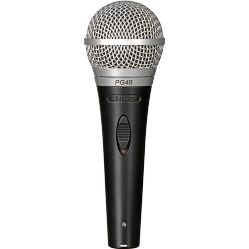 Shure PG48-QTR Cardioid Dynamic Vocal Microphone