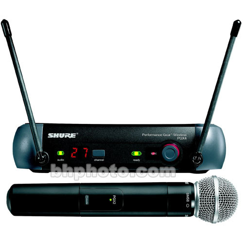 Shure PGX Series Wireless Microphone System
