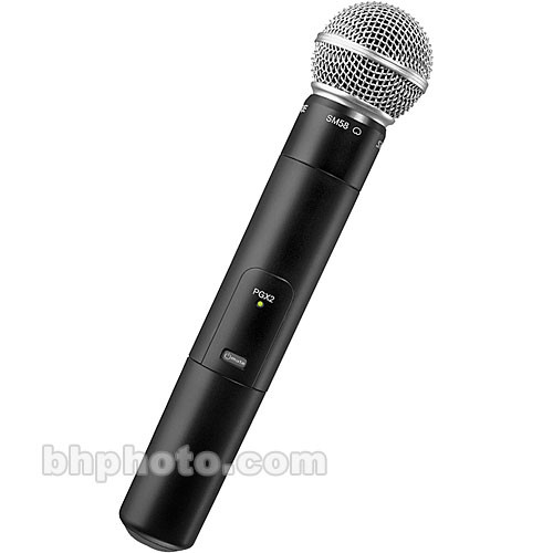 Shure PGX-2 Wireless Handheld Microphone Transmitter