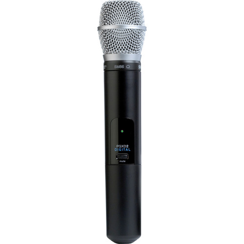 Shure PGXD2/SM86 Handheld Wireless Microphone Transmitter with SM86 Capsule