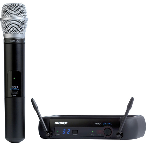 Shure PGXD Digital Series Wireless Handheld Microphone System with SM86 Capsule