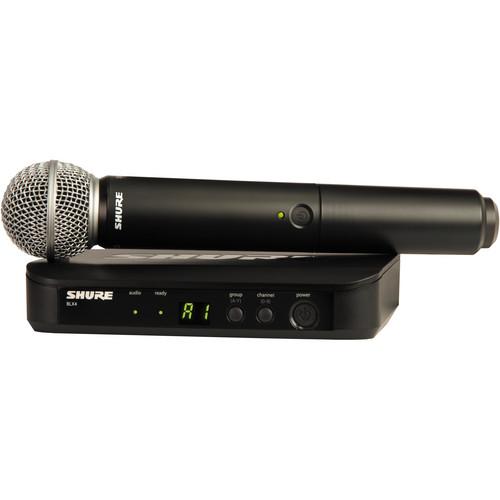 Shure Basic Wireless Handheld Microphone Kit (J10: 584 - 608 MHz)