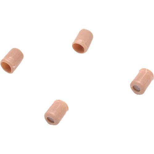 Shure Flat Protective Cap for Countryman Earset & Micro-Lav Mic (4-Pack, Tan)