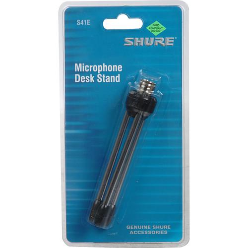 Shure S41E Microphone Desk Stand
