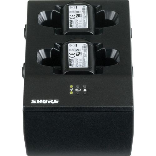 Shure SBC200 2-Bay Battery Charger without Power Supply