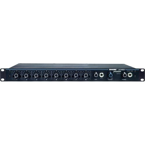Shure SCM800 8 Channel Microphone Mixer
