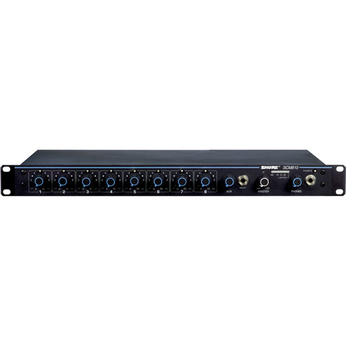 Shure SCM810 8-Channel Microphone Mixer