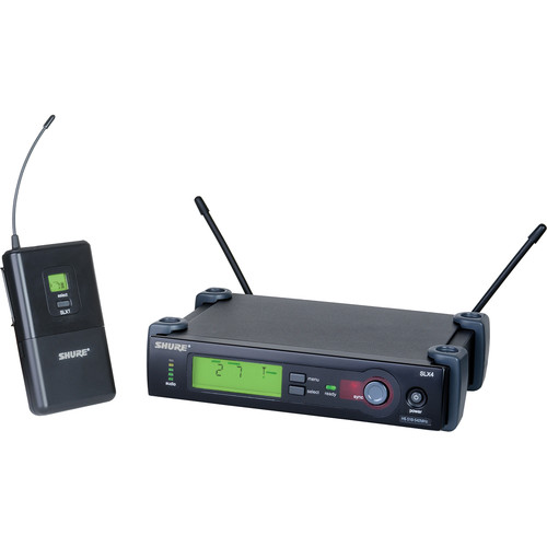 Shure SLX Series Wireless Instrument System (J3 : 572 - 596 MHz)
