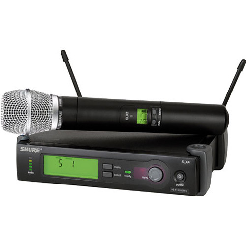 Shure SLX Series Wireless Microphone System G4/470 - 494MHz