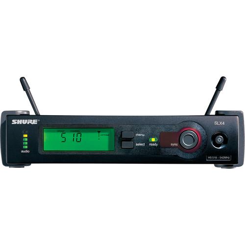 Shure SLX4 Diversity UHF Wireless Microphone Receiver (J3: 572 - 596 MHz)