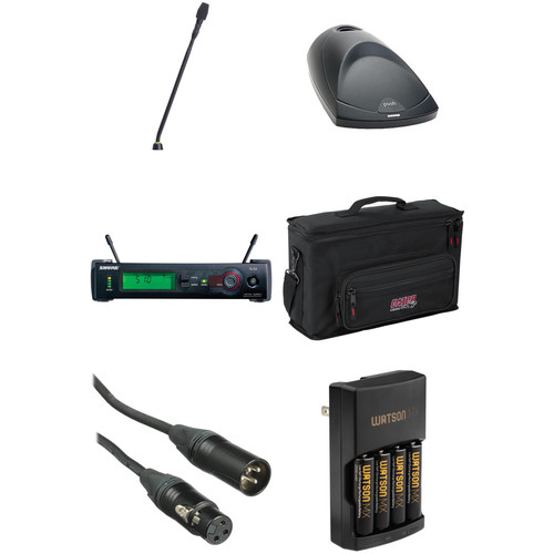 Shure SLX Wireless Gooseneck Microphone Kit (J3: 572 - 596 MHz)