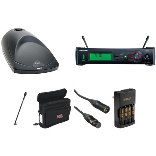 Shure SLX Wireless Gooseneck Microphone Kit (J3: 572 - 596 MHz)