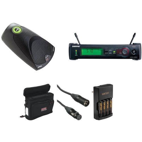 Shure SLX Wireless Boundary Microphone Basic Kit (J3: 572-596MHz)