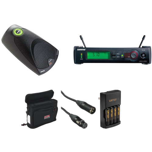 Shure SLX Wireless Boundary Microphone Basic Kit (J3: 572-596MHz)