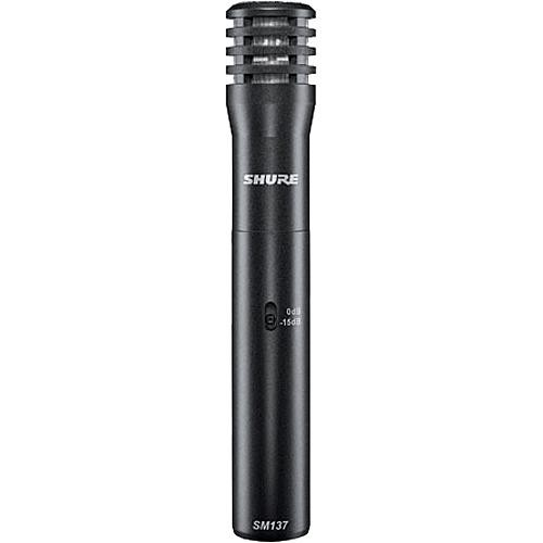 Shure SM137 Small Diaphragm Cardioid Condenser Microphone