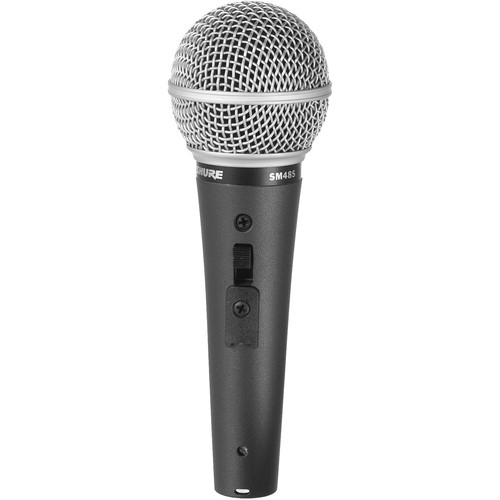 Shure SM48S-LC Vocal Microphone with On/Off Switch