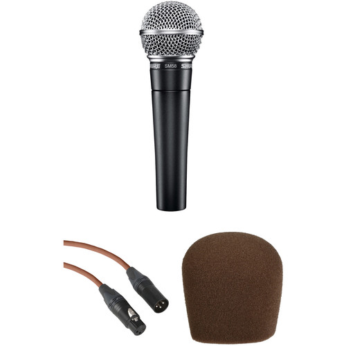 Shure SM58 Cardioid Microphone Kit