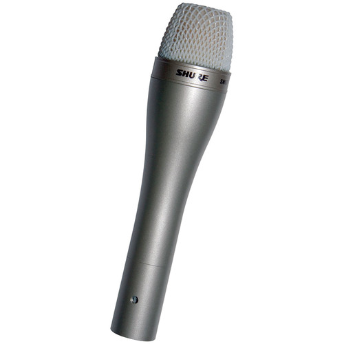 Shure SM63 Omnidirectional Dynamic Microphone (Champagne)