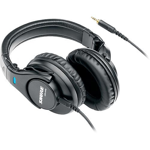 Shure SRH440 Professional Around-Ear Stereo Headphones