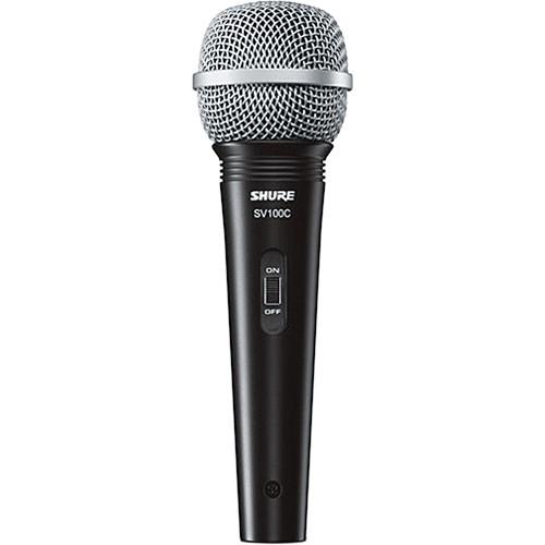 Shure SV100-W Dynamic Cardioid Handheld Microphone