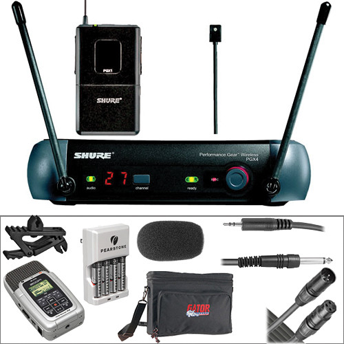 shure shure pgx wireless zoom h2 portable recorder kit. Black Bedroom Furniture Sets. Home Design Ideas