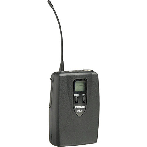 Shure ULX1 Wireless Bodypack Transmitter (G3: 470 to 506 MHz)