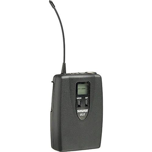 Shure ULX1 UHF Bodypack Transmitter (Channel Group / G3)