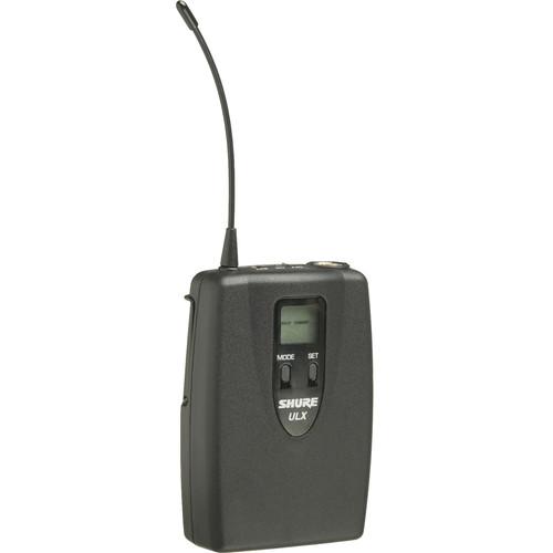 Shure ULX1 UHF Bodypack Transmitter (Channel Group / J1)