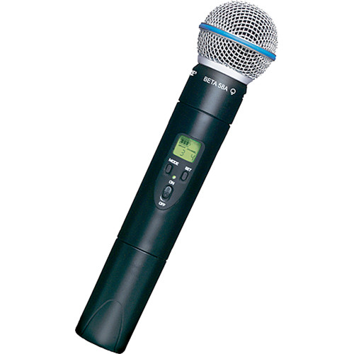 Shure ULX2/BETA58 Wireless Handheld Microphone Transmitter with Beta 58A Capsule (G3: 470 to 506 MHz)